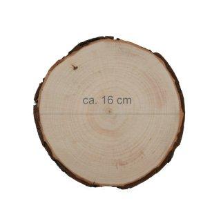 Rindenbrett rund Durchmesser ca. 16 cm