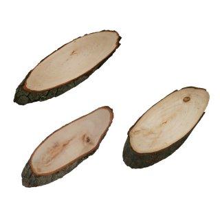 Rindenbrett oval